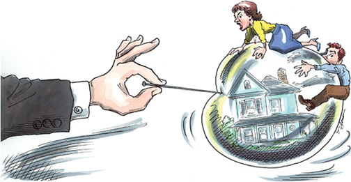 mortgage-bubble-bursting-by-the-sub-prime-mortgage-meltdown